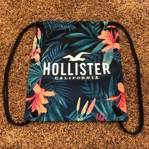Hollister Tropical Drawstring Bag